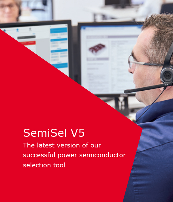 Our New Successful Power Semiconductor Selection Tool