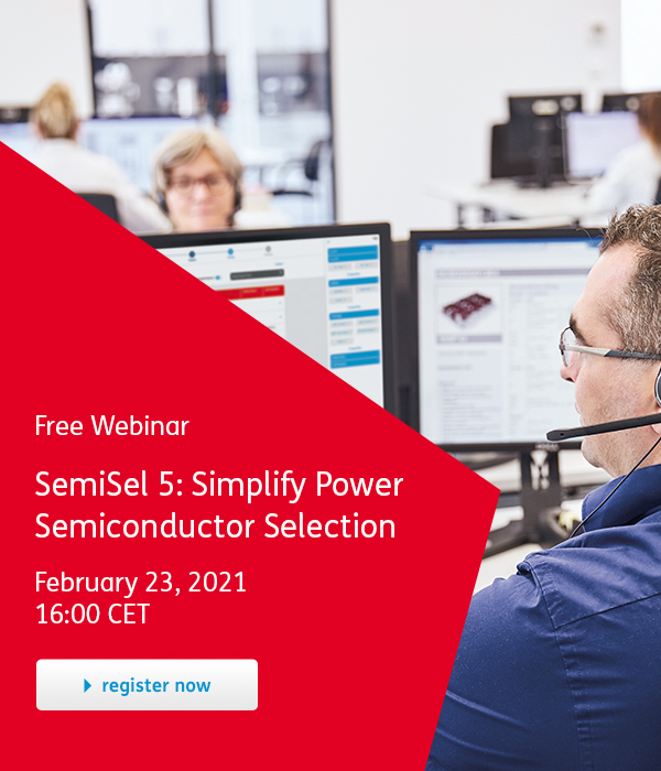SemiSel 5 - Simplify Power Semiconductor Selection